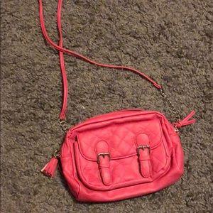 Candies pink crossbody purse